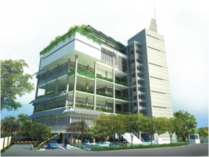 Konsep arsitektur hijau pada bangunan gedung