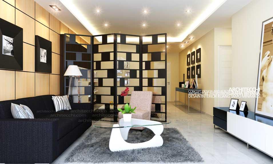 Tips Menyiasati Keterbatasan Ruang Tamu Desain Interior Ruang Tamu Minimalis Untuk Rumah Type 45