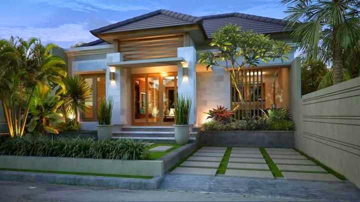 Trik Menciptakan Rumah Tropis Bergaya Minimalis