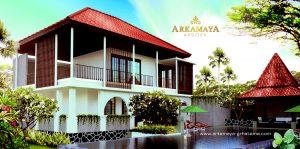 GAMBAR 3D VISUAL FASAD EKSTERIOR - Jasa Arsitek Kontraktor Jogja - Desain Bangun Rumah Tinggal Tropis - ARKAMAYA GRHATAMA (2)