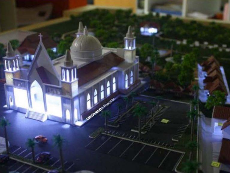 MAKET – Kawasan Gereja LAMANDAU