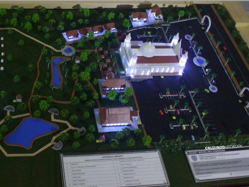 3D MODELLING - MAKET Kawasan Gereja Lamandau - KALIMANTAN