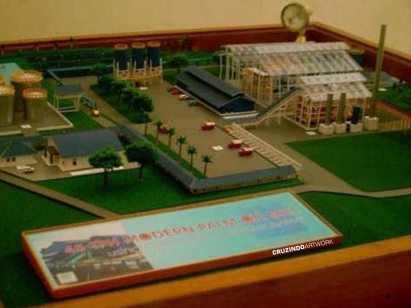 3D MODELLING - MAKET Pabrik Kelapa Sawit - MALAYSIA