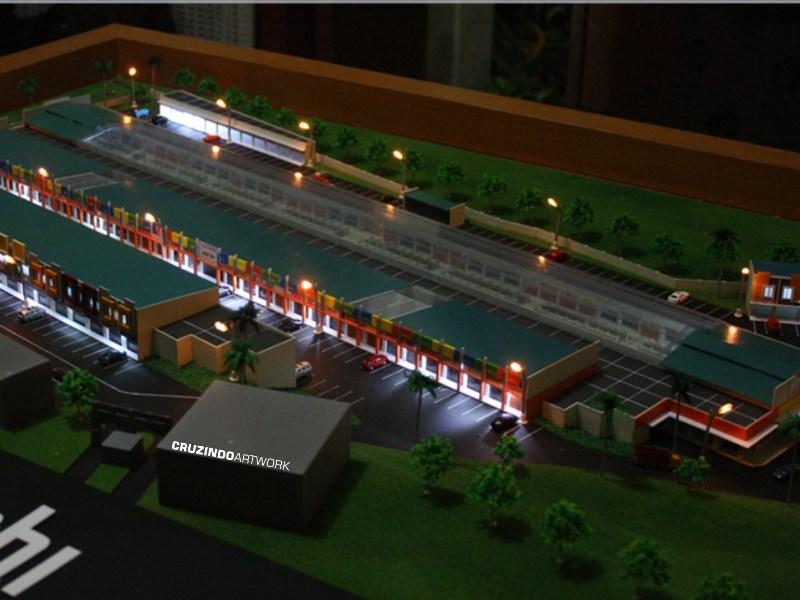 3D MODELLING - MAKET Pasar Mama - JAMBI