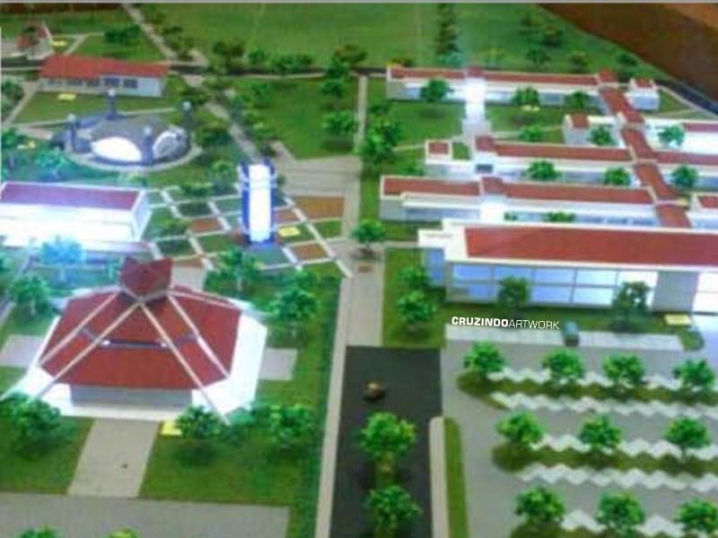 3D MODELLING - MAKET Politeknik Lamandau - KALIMANTAN
