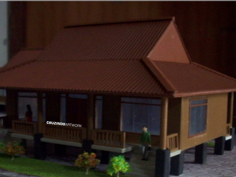 3D MODELLING - MAKET Unit Cottage - LAMPUNG