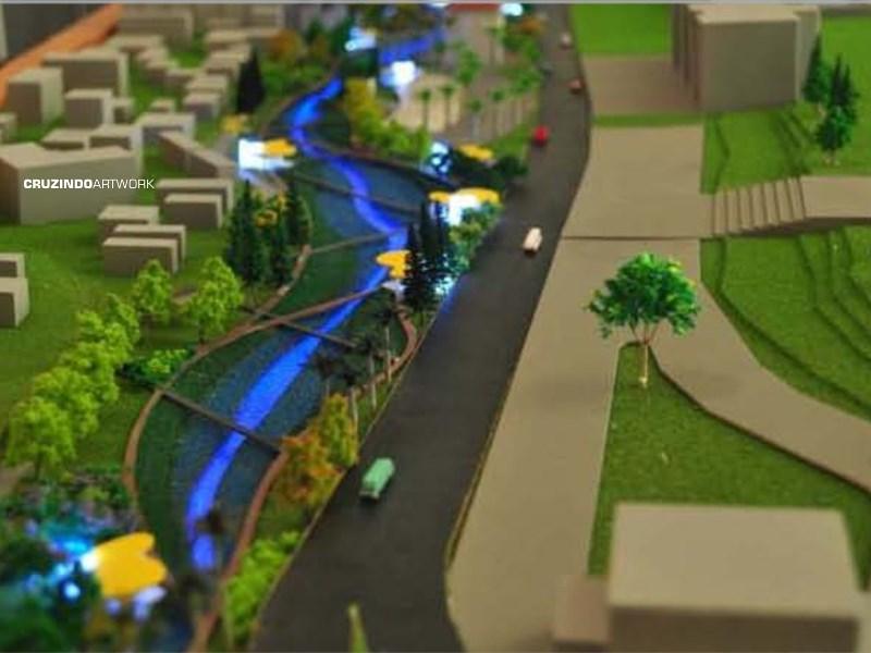 3D MODELLING - MAKET Wisdom Park UGM - YOGYAKARTA