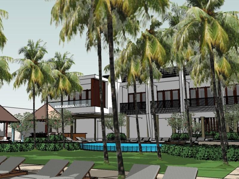 ARSITEK LANDSCAPE BALI - Proyek Desain Landscape Kubu Beach Lovina Hotel - Tjendana Groups BALI (1)