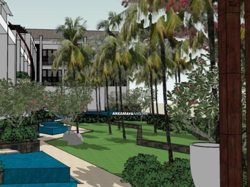 ARSITEK LANDSCAPE BALI - Proyek Desain Landscape Kubu Beach Lovina Hotel - Tjendana Groups BALI (3)