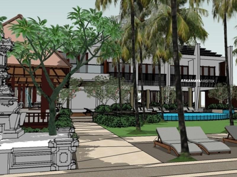 ARSITEK LANDSCAPE - Proyek Desain Landscape Kubu Beach Lovina Hotel - Tjendana Groups BALI (2)
