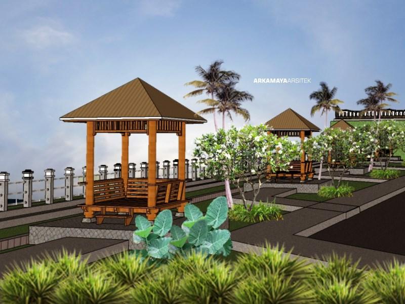 ARSITEK LANDSCAPE - Proyek Desain Landscape SPAM Kartamantul - Adhi Karya BANTUL (3)