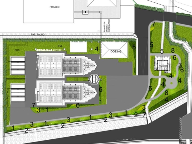 ARSITEK LANDSCAPE - Proyek Desain Landscape SPAM Kartamantul - Adhi Karya BANTUL (5)