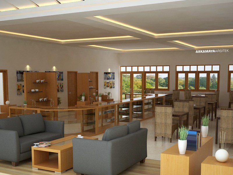 INTERIOR FURNITURE - Proyek Desain Interior REJOSARI Resto & Gallery - Bpk. Yani BOROBUDUR (2)