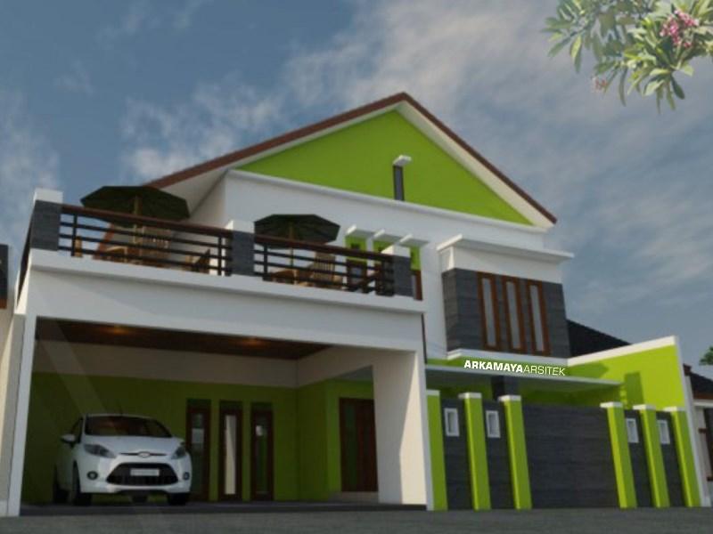 JASA ARSITEK ACEH - Proyek Desain Rumah Tinggal Bertingkat 244m2 - Bpk. Luqman WIjaya ACEH - Jasa Desain Bangun Rumah - Arkamaya Arsitek Kontraktor Jogja