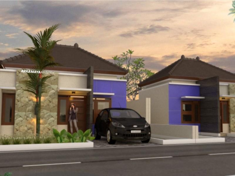 JASA ARSITEK AMBON - Proyek Desain Rumah Tinggal 1 Lantai 54m2 - Bpk. Yohanes AMBON - Jasa Desain Bangun Rumah - Arkamaya Arsitek Kontraktor Jogja