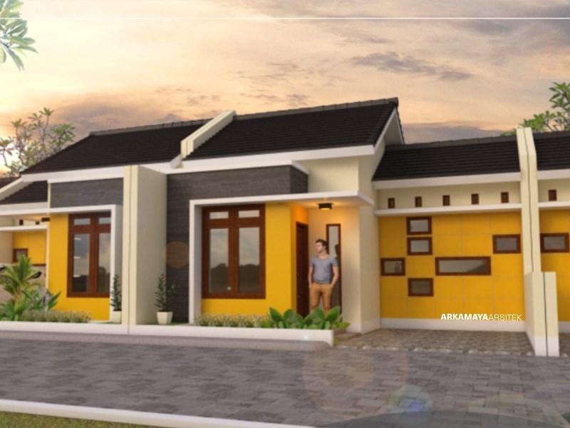 JASA ARSITEK BALIKPAPAN - Proyek Desain Rumah Tinggal 1 Lantai 54m2 - Bpk. Benny Sunkar BALIKPAPAN - Jasa Desain Bangun Rumah - Arkamaya Arsitek Kontraktor Jogja