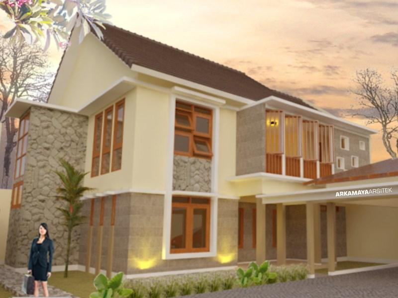JASA ARSITEK BANJARMASIN - Proyek Desain Rumah Tinggal Bertingkat 210m2 - Bpk. Alfiansyah BANJARMASIN - Jasa Desain Bangun Rumah - Arkamaya Arsitek Kontraktor Jogja