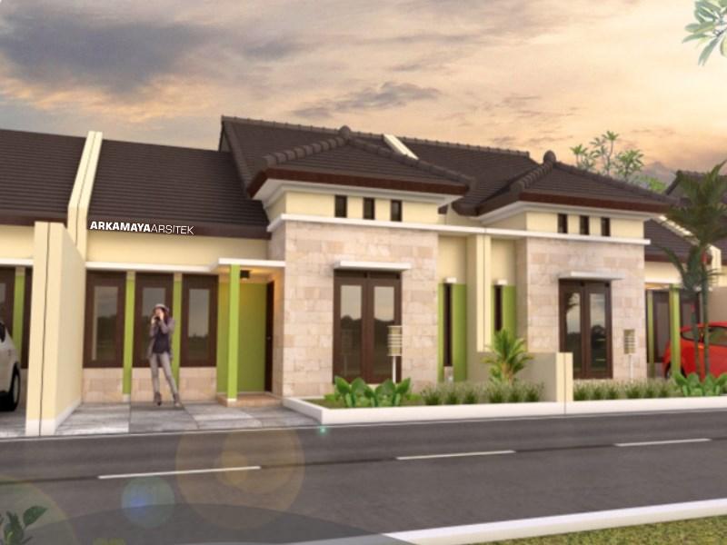 JASA ARSITEK BEKASI - Proyek Desain Rumah Tinggal 1 Lantai 60m2 - Bpk. Robby Wijaya BEKASI - Jasa Desain Bangun Rumah - Arkamaya Arsitek Kontraktor Jogja