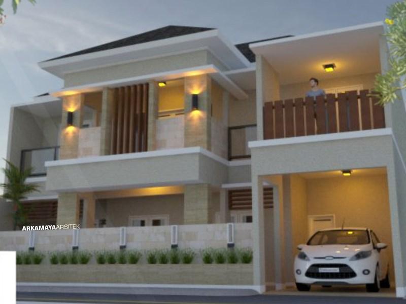 JASA ARSITEK BOGOR - Proyek Desain Rumah Tinggal Bertingkat 285m2 - Ibu Christine BOGOR - Jasa Desain Bangun Rumah - Arkamaya Arsitek Kontraktor Jogja
