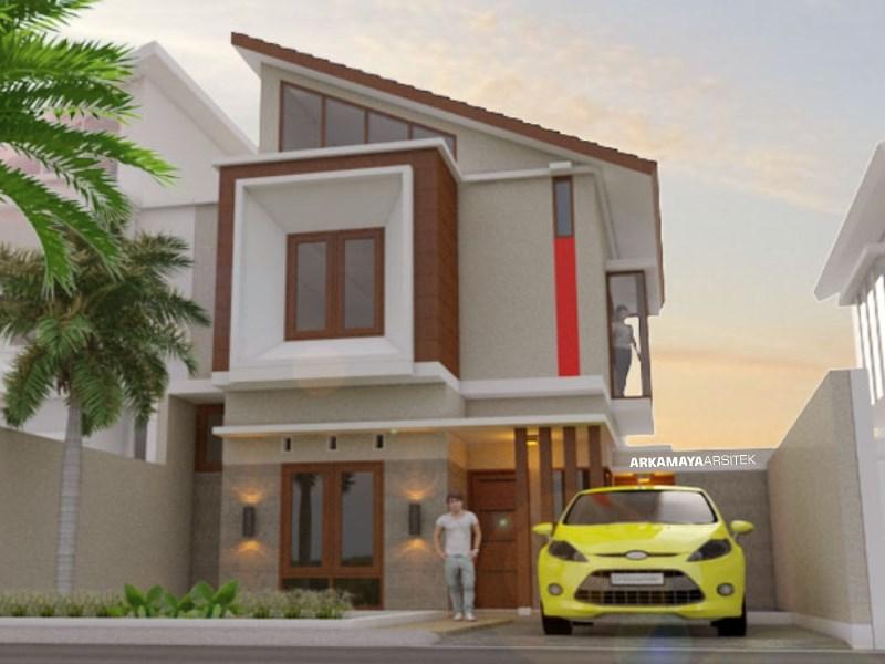 JASA ARSITEK JAKARTA - Proyek Desain Rumah Tinggal Bertingkat 120m2 - Bpk. Steve Morgan JAKARTA - Jasa Desain Bangun Rumah - Arkamaya Arsitek Kontraktor Jogja (1)