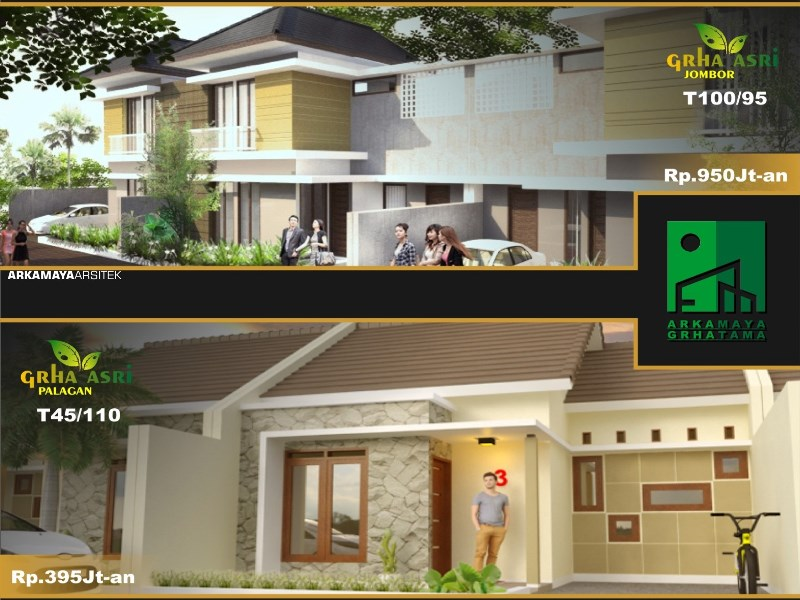 JASA ARSITEK YOGYAKARTA - Proyek Desain Perumahan Rumah Bertingkat 110m2 - Bpk. Anang Sugiyono SLEMAN - Jasa Desain Bangun Rumah - Arkamaya Arsitek Kontraktor Jogja (5)