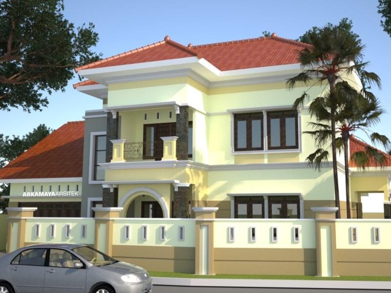 KONTRAKTOR BANGUN RUMAH - Proyek Desain & Pembangunan Rumah Tinggal 2 Lantai - Bpk. Rahmat Purwanto YOGYAKARTA (1)