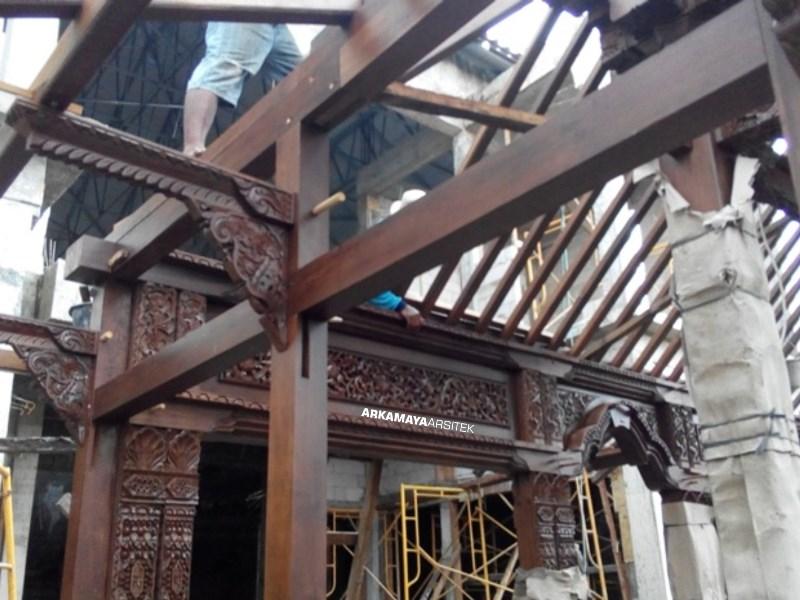 KONTRAKTOR BANGUNAN KOMERSIL - Proyek Desain & Pengawasan SANDRA Boutique - Bpk. Bambang SLEMAN (2)