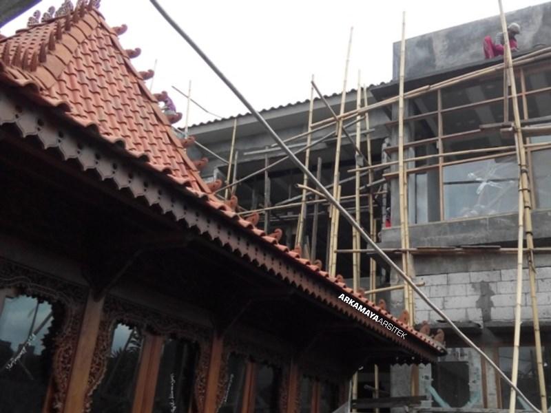 KONTRAKTOR BANGUNAN KOMERSIL - Proyek Desain & Pengawasan SANDRA Boutique - Bpk. Bambang SLEMAN (3)