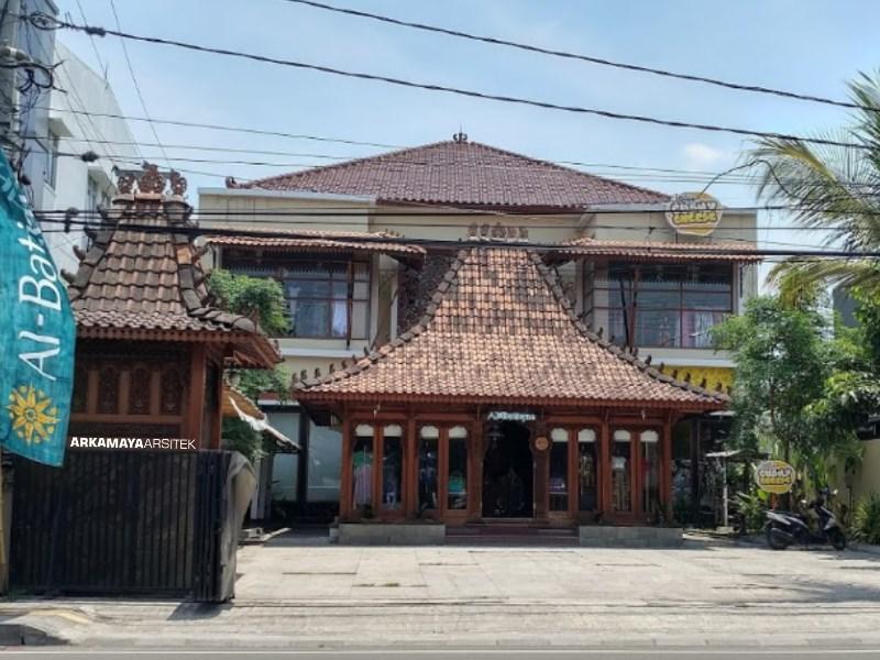 KONTRAKTOR BANGUNAN KOMERSIL - Proyek Desain & Pengawasan SANDRA Boutique - Bpk. Bambang SLEMAN (6)
