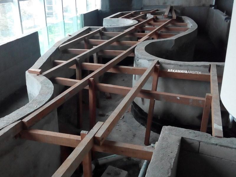 KONTRAKTOR INTERIOR - Proyek Desain & Pelaksanaan Interior ALHAMBRA Spa-Bistro 2 Lantai - Mr. Waqqas Hartono Mall JOGJA (4)