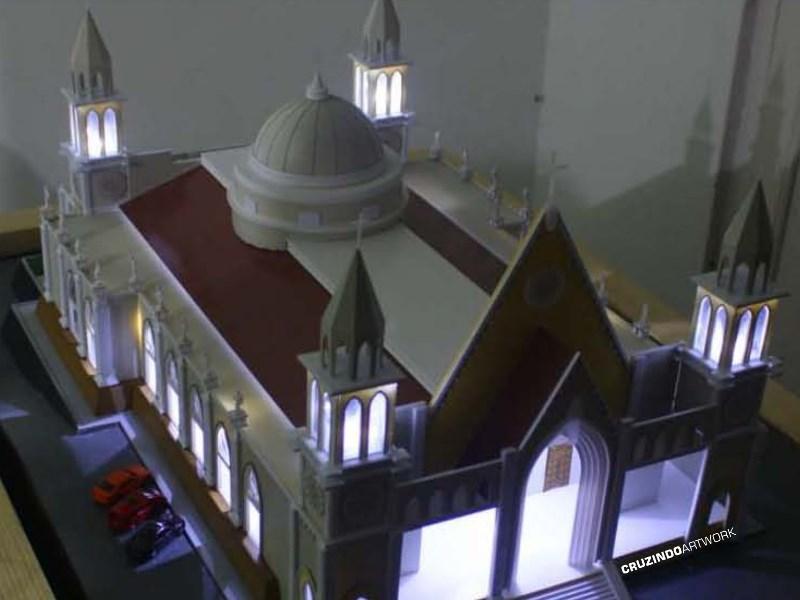 3D MODELLING - MAKET Gereja Lamandau - KALIMANTAN (5)