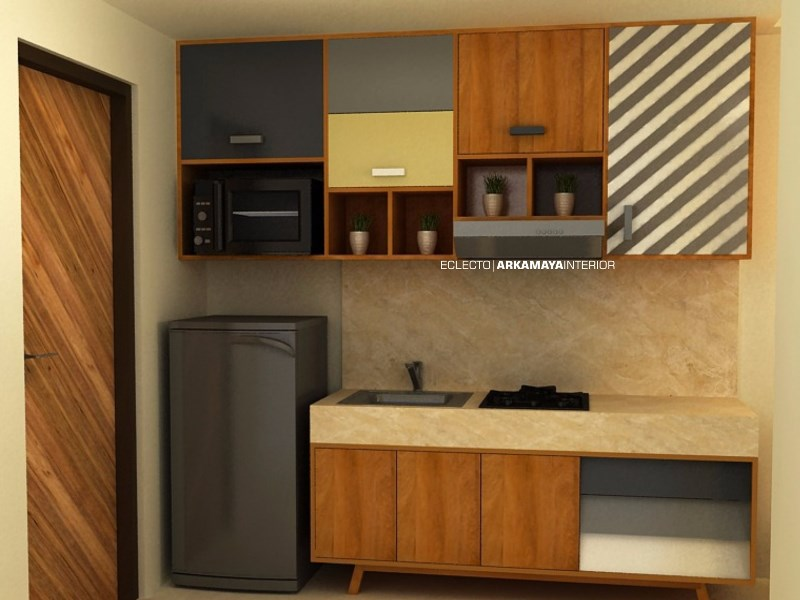 INTERIOR FURNITURE - Proyek Desain Interior - UTTARA Apartment JOGJA (2)