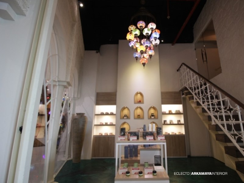 INTERIOR FURNITURE - Proyek Desain & Pelaksanaan Interior ALHAMBRA Spa-Bistro 2 Lantai - Mr. Waqqas Hartono Mall JOGJA (6)