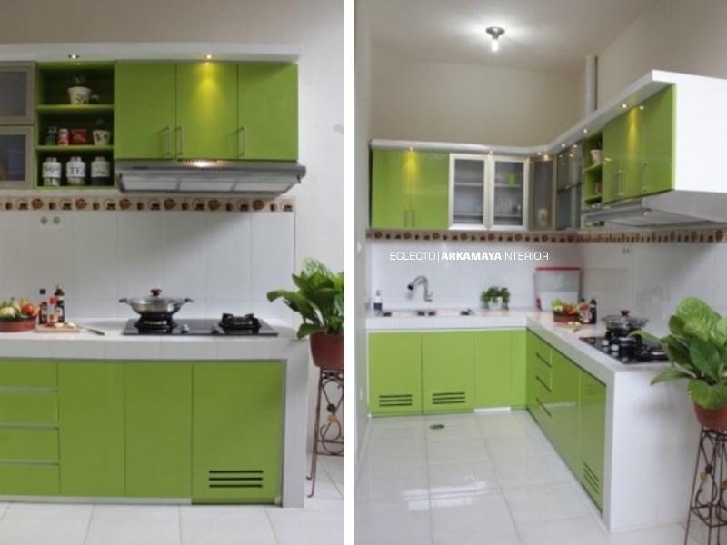INTERIOR FURNITURE - Proyek Desain & Pelaksanaan Interior Kitchen - Ibu Peni, SLEMAN