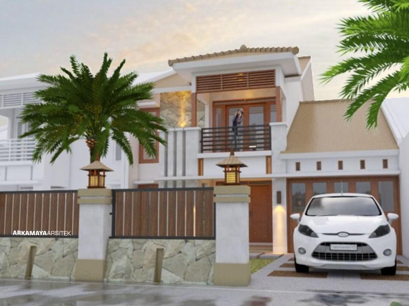 JASA ARSITEK JOGJA - Proyek Desain Rumah Tinggal Bertingkat 245m2 - Bpk. Gunawan Sumadiputra YOGYAKARTA - Jasa Desain Bangun Rumah - Arkamaya Arsitek Kontraktor Jogja
