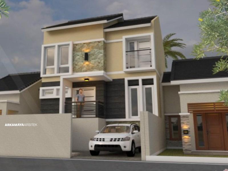 JASA ARSITEK KLATEN - Proyek Desain Rumah Tinggal Bertingkat 120m2 - Bpk. John Handi KLATEN - Jasa Desain Bangun Rumah - Arkamaya Arsitek Kontraktor Jogja