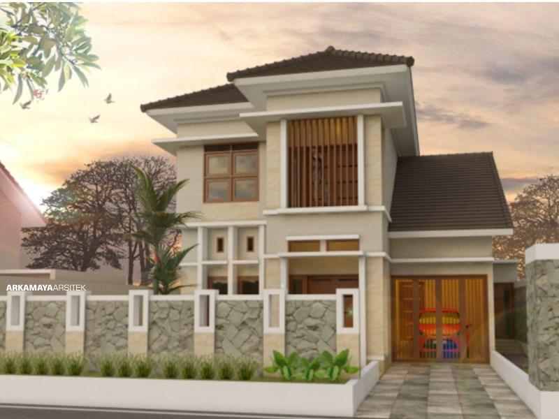 JASA ARSITEK KULONPROGO - Proyek Desain Rumah Tinggal Bertingkat 187m2 - Bpk. Ardi Haryanto KULONPROGO - Jasa Desain Bangun Rumah - Arkamaya Arsitek Kontraktor Jogja (2)
