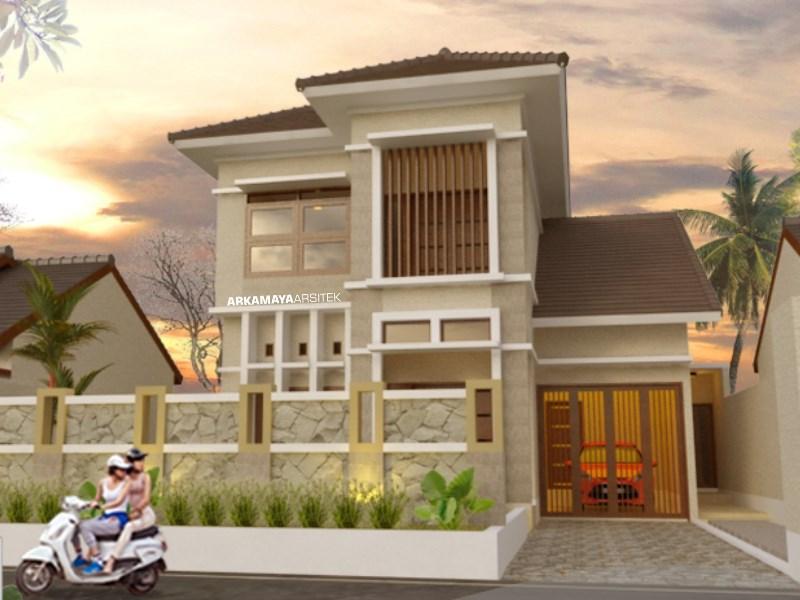 JASA ARSITEK KULONPROGO - Proyek Desain Rumah Tinggal Bertingkat 187m2 - Bpk. Ardi Haryanto KULONPROGO - Jasa Desain Bangun Rumah - Arkamaya Arsitek Kontraktor Jogja