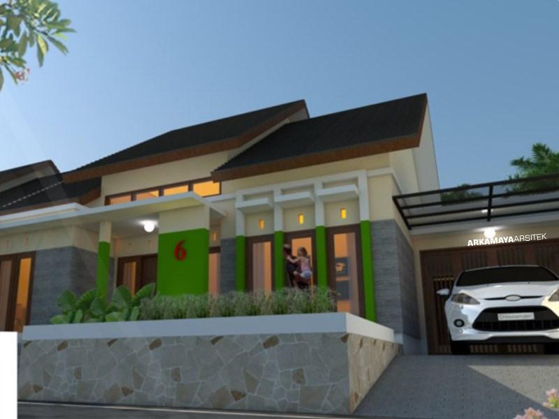JASA ARSITEK LAMPUNG - Proyek Desain Rumah Tinggal 1 Lantai 110m2 - Bpk. Septian LAMPUNG - Jasa Desain Bangun Rumah - Arkamaya Arsitek Kontraktor Jogja