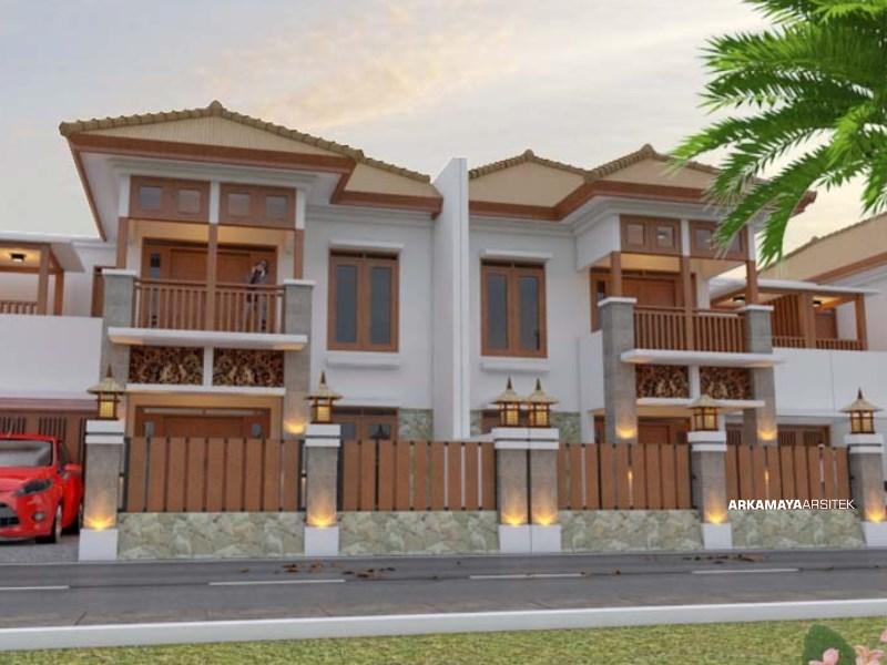 JASA ARSITEK MALANG - Proyek Desain Rumah Tinggal Bertingkat 245m2 - Bpk. Wayan Putra MALANG - Jasa Desain Bangun Rumah - Arkamaya Arsitek Kontraktor Jogja