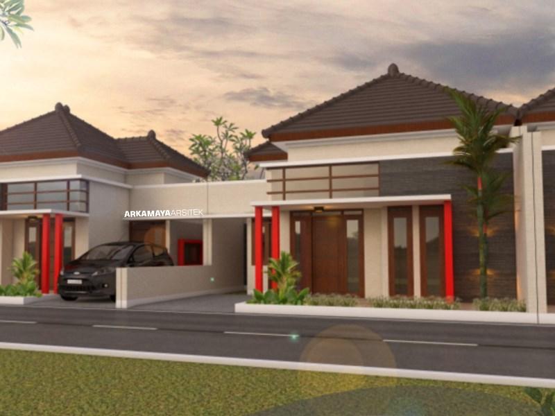 JASA ARSITEK MANADO - Proyek Desain Rumah Tinggal 1 Lantai 90m2 - Ibu Arlina Lasut MANADO - Jasa Desain Bangun Rumah - Arkamaya Arsitek Kontraktor Jogja
