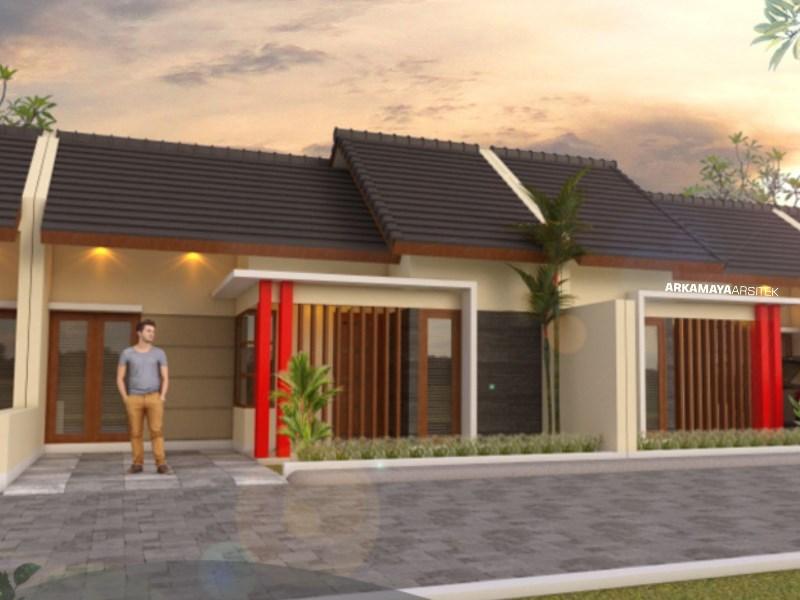 JASA ARSITEK MATARAM - Proyek Desain Rumah Tinggal 1 Lantai 60m2 - Bpk. Zaenal MATARAM - Jasa Desain Bangun Rumah - Arkamaya Arsitek Kontraktor Jogja