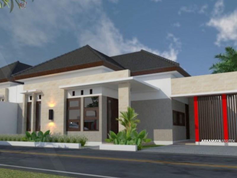 JASA ARSITEK PALEMBANG - Proyek Desain Rumah Tinggal 1 Lantai 135m2 - Bpk. Hasan Faisal PALEMBANG - Jasa Desain Bangun Rumah - Arkamaya Arsitek Kontraktor Jogja