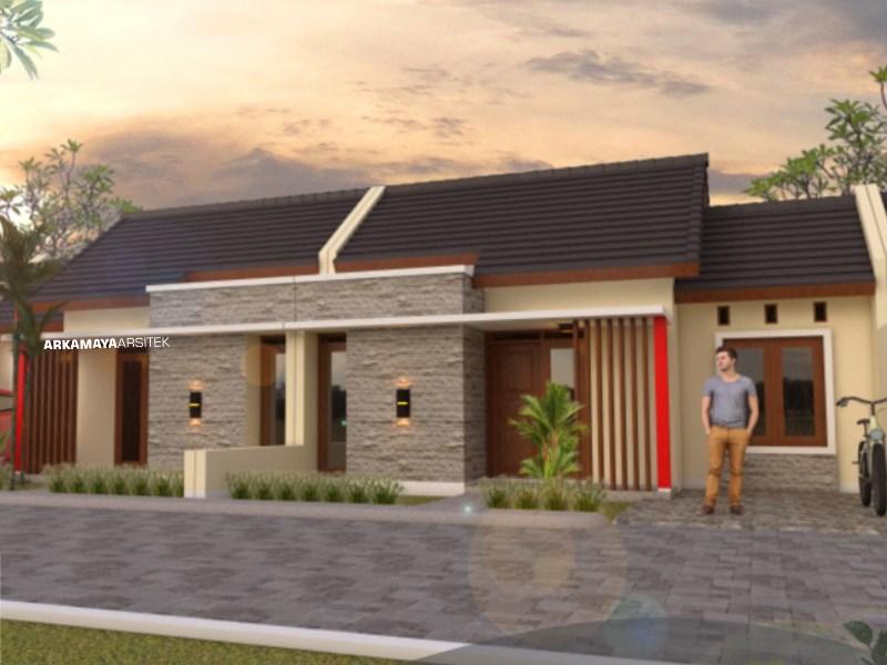 JASA ARSITEK PAPUA - Proyek Desain Rumah Tinggal 1 Lantai 50m2 - Bpk. Siane Halim PAPUA - Jasa Desain Bangun Rumah - Arkamaya Arsitek Kontraktor Jogja