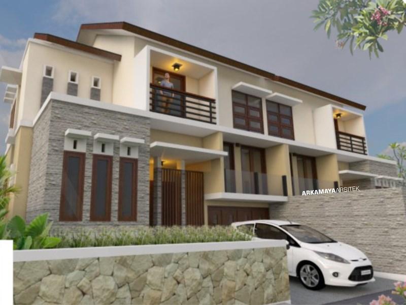 JASA ARSITEK RIAU - Proyek Desain Rumah Tinggal Bertingkat 164m2 - Bpk. Harun RIAU - Jasa Desain Bangun Rumah - Arkamaya Arsitek Kontraktor Jogja