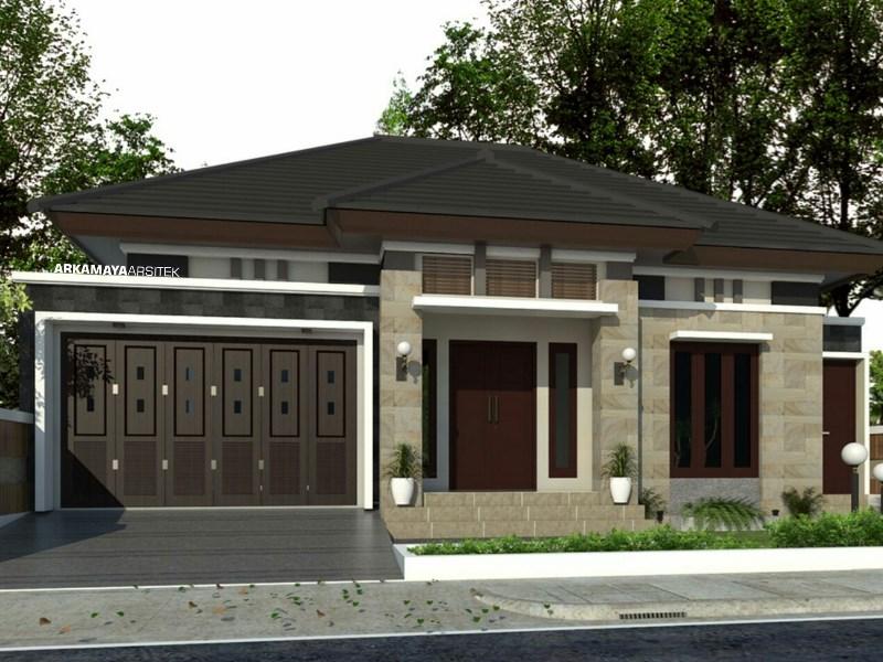 JASA ARSITEK SLEMAN 2 - Proyek Desain Rumah Tinggal 1 Lantai 160m2 - Bpk. Suhardi SLEMAN - Jasa Desain Bangun Rumah - Arkamaya Arsitek Kontraktor Jogja