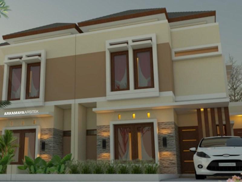 JASA ARSITEK SOLO - Proyek Desain Rumah Tinggal Bertingkat 145m2 - Bpk. Joko Wahab SOLO - Jasa Desain Bangun Rumah - Arkamaya Arsitek Kontraktor Jogja