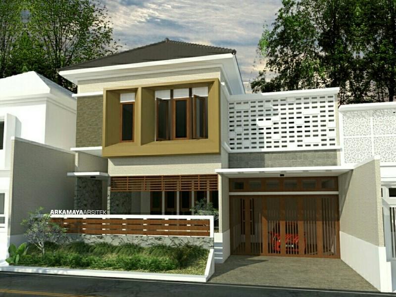 JASA ARSITEK TEGAL - Proyek Desain Rumah Tinggal Bertingkat 533m2 - Bpk. Mukmin Yaman TEGAL - Jasa Desain Bangun Rumah - Arkamaya Arsitek Kontraktor Jogja (2)