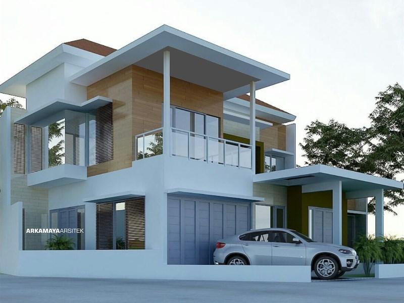 JASA ARSITEK BANTUL - Proyek Desain Renovasi Rumah Tinggal 2 Lantai 195 m2 - Bpk. Sofyan Hadi BANTUL - Jasa Desain Bangun Rumah - Arkamaya Arsitek Kontraktor Jogja