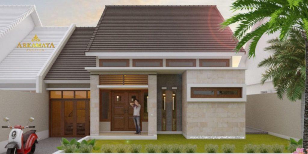 JASA ARSITEK BANYUWANGI - Jasa Desain Bangun Rumah - Arkamaya Arsitek Kontraktor Jogja - Rumah 1 Lantai 115m2 - Bpk. Zainal Abidin BANYUWANGI